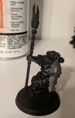Praetor with Infernus Pistol and Blade of Perdition