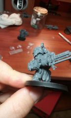 Sword Brethren Terminator with Assault Cannon