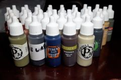 Final batch of paints in droppers - woot!
